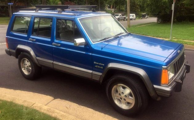 Super Clean Stick Shift 1991 Jeep Cherokee Laredo