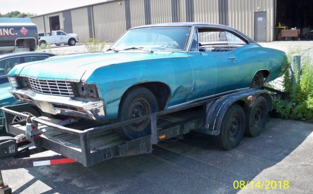 Needs Almost Everything 1967 Chevrolet Impala
