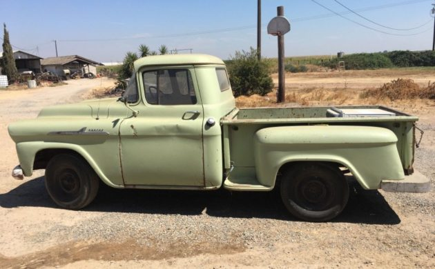 2nd Owner Sale 1958 Chevrolet Apache