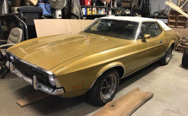 40 500 Original Miles 1972 Ford Mustang Grande Barn Finds