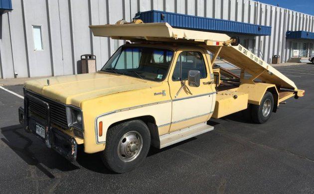 Ramp It Up 1978 Chevrolet Silverado C30 Hauler