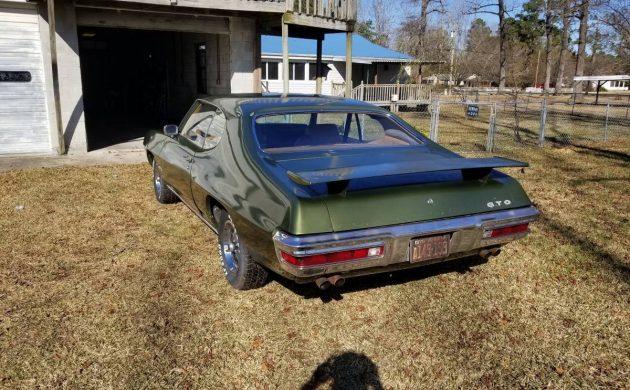 One Owner 65k Mile Original 1970 Pontiac Gto