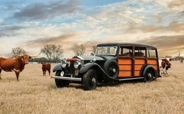 1926 rolls royce phantom shooting brake ranch wagon 1926 rolls royce phantom shooting brake