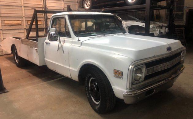 Barn Find Hauler 1972 Chevrolet C 10 Ramp Truck