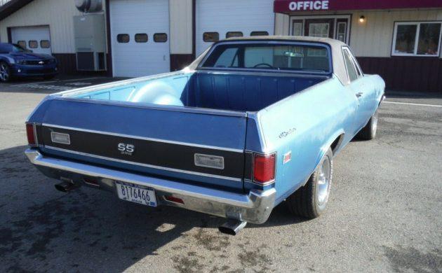 Big Block Bruiser: 1969 Chevrolet El Camino SS396