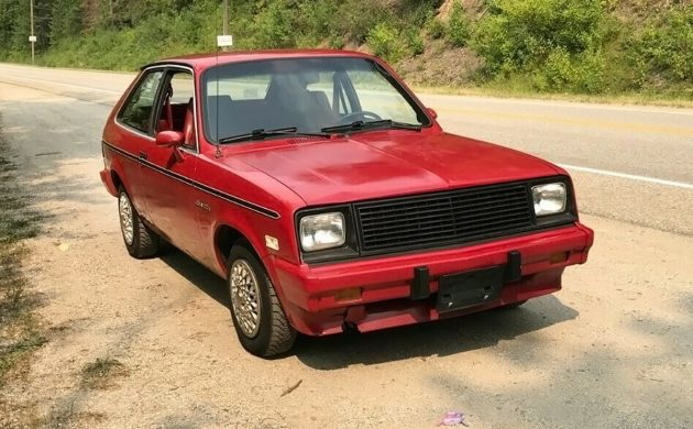fancy canadian 1986 chevrolet chevette cs fancy canadian 1986 chevrolet chevette cs