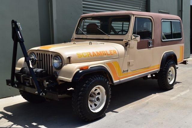 1982 Jeep Scrambler CJ-8