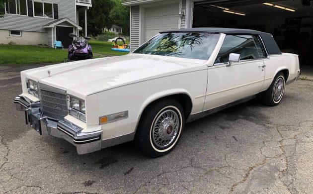 1985 cadillac eldorado coupe with 979 miles 1985 cadillac eldorado coupe with 979
