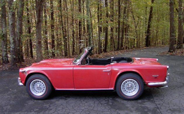 Original Paint Survivor 1968 Triumph Tr250