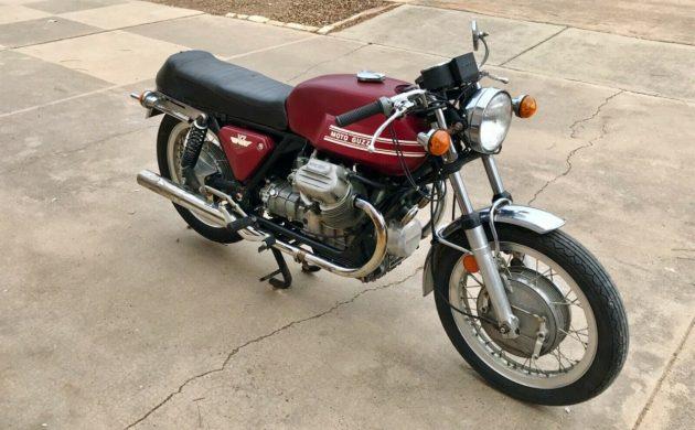 Bella Moto 1973 Moto Guzzi V7 Sport
