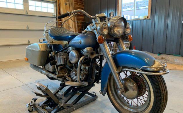 Last Ridden In 72 1948 Harley Hydra Glide