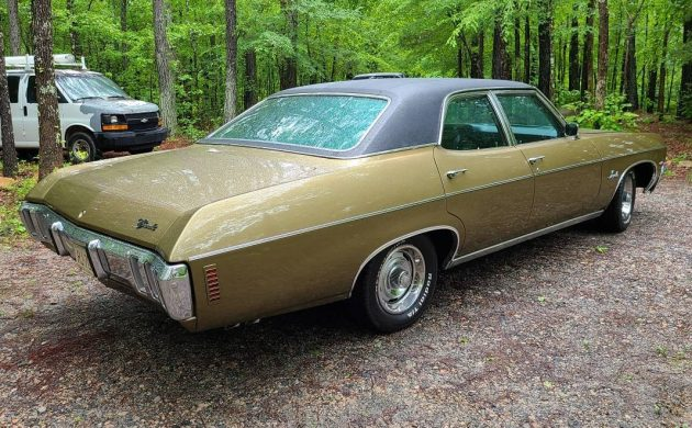 Rare Bucket Seat Survivor 1970 Chevrolet Impala
