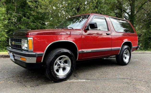 Rust Free 1991 Chevrolet S 10 Blazer
