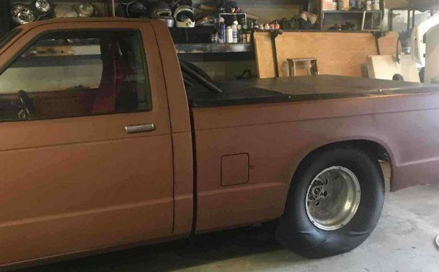 Drag Racer Pickup 1985 Chevrolet S 10