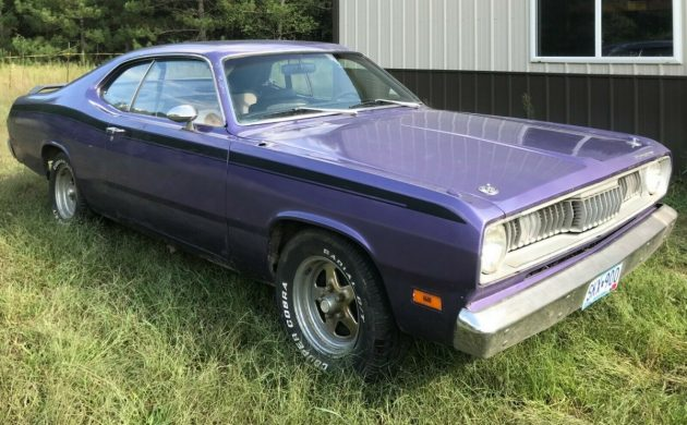 Running Project 1971 Plymouth Duster 340