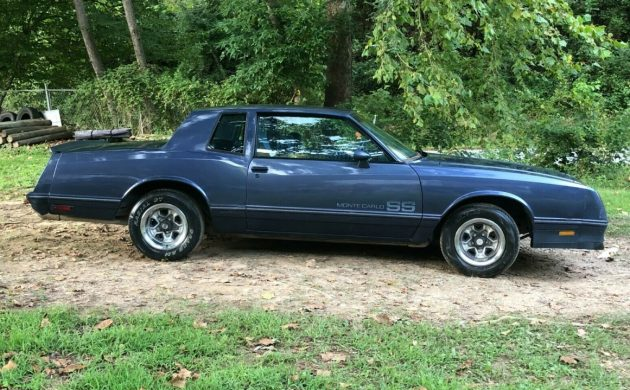 Rare Color 1984 Chevrolet Monte Carlo Ss