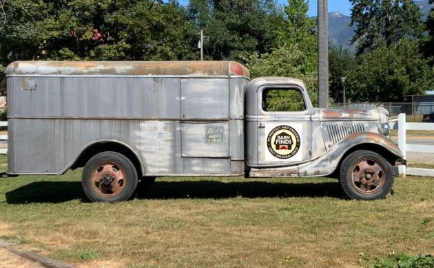 Runs And Drives: 1935 Ford Bread Truck