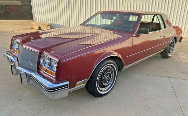 40k Mile 1985 Buick Riviera T Type Turbo